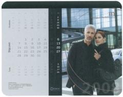 podkładka pod mysz z kalendarzem